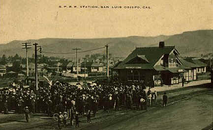 San Luis Obispo Train Station
